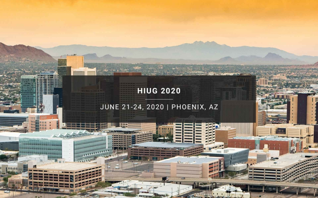 HIUG 2020 New Resources Consulting