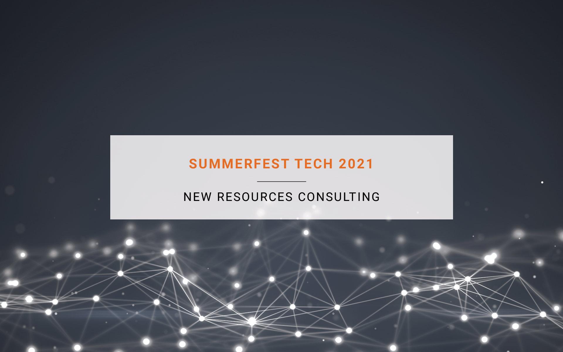 Summerfest Tech 2021